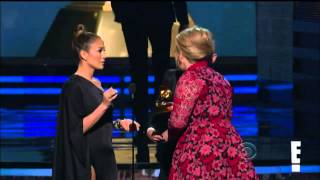 Vitalii Sediuk Crashes Grammys before Adele