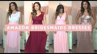$50 AND UNDER BRIDESMAIDS DRESSES - From Amazon