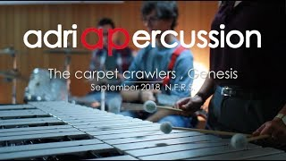 Adriapercussion - Carpet crawlers