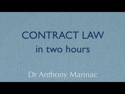 Contract Law in Two Hours