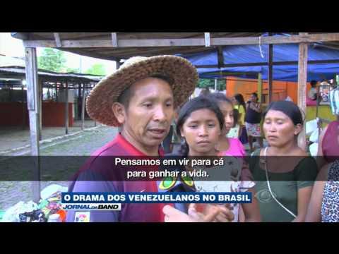 Número de imigrantes venezuelanos no Brasil aumenta