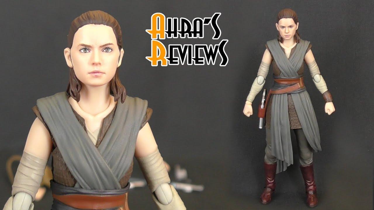 BANDAI S.H.Figuarts Rey The Last Jedi Figure STAR WARS