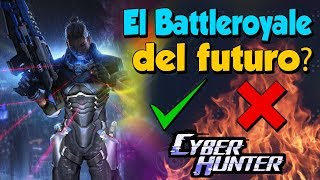 CAN CYBER HUNTER EXCEED PUBG MOBILE, FREE FIRE ET FORTNITE MOBILE?