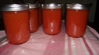 Canning Tomato Soup & Sauce