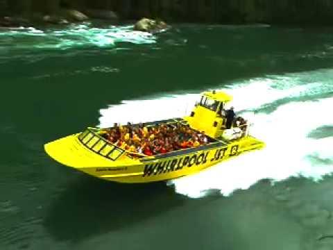 Incredible Niagara River jet boats