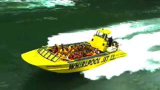 Incredible Niagara River jet boats