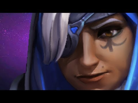 ♥ The Watchful Eye Of Ana - Heroes of the Storm (HotS Gameplay)
