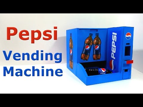 Thumbnail: How to make Pepsi Vending Machine