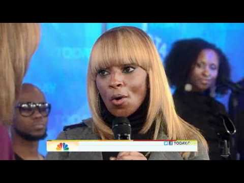 Mary J. Blige Singing 'Mr. Wrong' (live)
