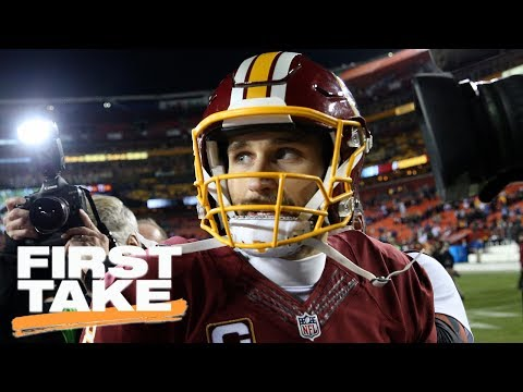 Kirk Cousins Not Expected To Sign Long-Term Contract With Redskins | First Take | July 17, 2017