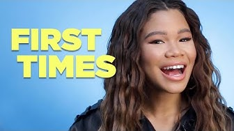 Storm Reid Tells Us About Her First Times