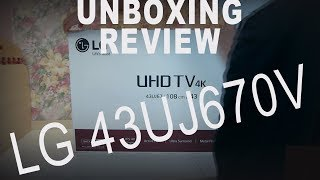 Unboxing & Review Lg 43uj670v