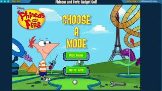 Phineas And Ferb: Gadget Golf Speedrun In 4:39 Minutes