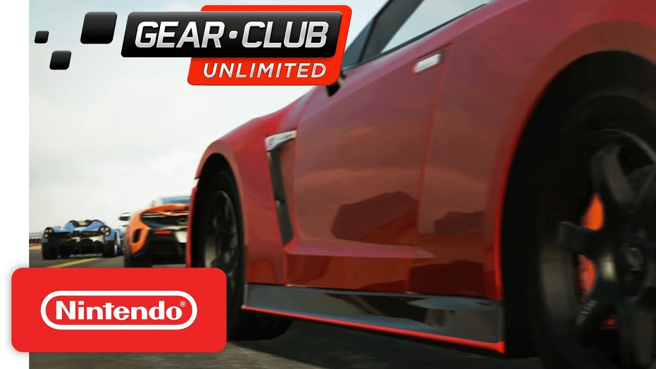 gear club unlimited nintendo switch teaser trailer youtube. Black Bedroom Furniture Sets. Home Design Ideas