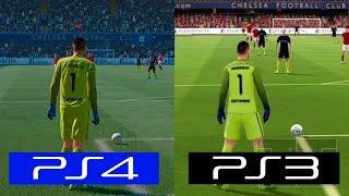 Fifa 17 | PS4 VS PS3 | GRAPHICS COMPARISON
