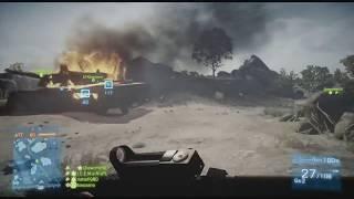 Battlefield 3 [ENG/PL] - Xbox 360 Multiplayer Rush 2017