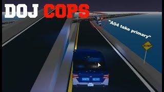 ROBLOX DOJ Cops #13 - Relentless! (Law Enforcement) [FINALE]