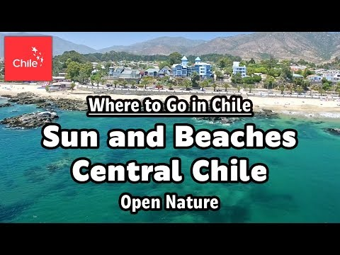 Where To Go In Chile: Sun And Beaches Central Chile - Open Nature