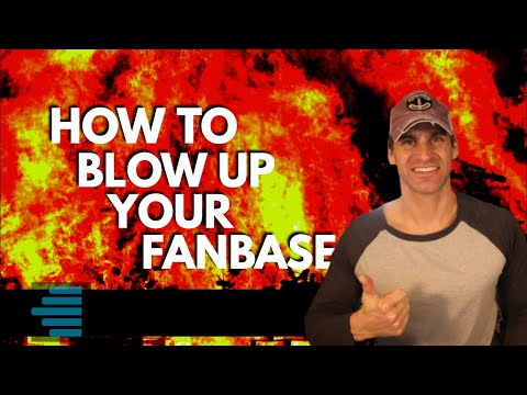 How To Blow Up Your Fanbase – Music Marketing 101