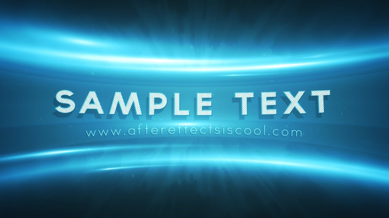 epic after effects intro template free download youtube