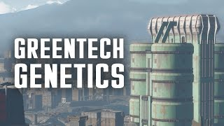 The Full Story of Greentech Genetics - Plus, the Hunter Hunted Quest - Fallout 4 Lore