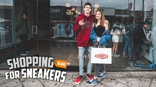 Shopping For Sneakers With My Sister