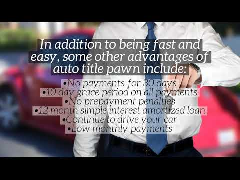 Can An Auto Title Pawn In Fort Lauderdale Get Me Fast Cash   Auto Loan Store