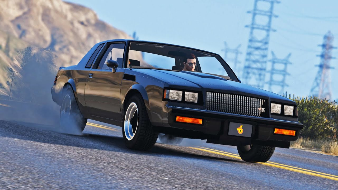 2016 Buick Grand National >> GTA V Quick Drive E04 - 1987 Buick Grand National GNX - YouTube