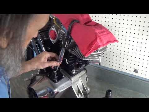 Shovelhead Points Timing - YouTube