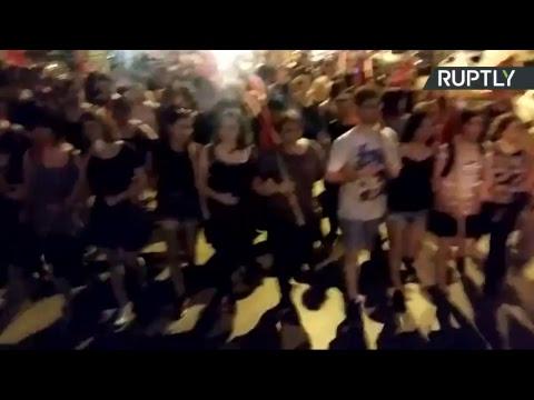 Des activistes pro-palestiniens manifestent à Thessalonique (Direct du 15.06)