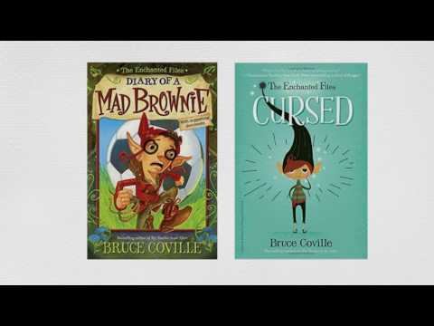 THE ENCHANTED FILES: CURSED by Bruce Coville Book Trailer
