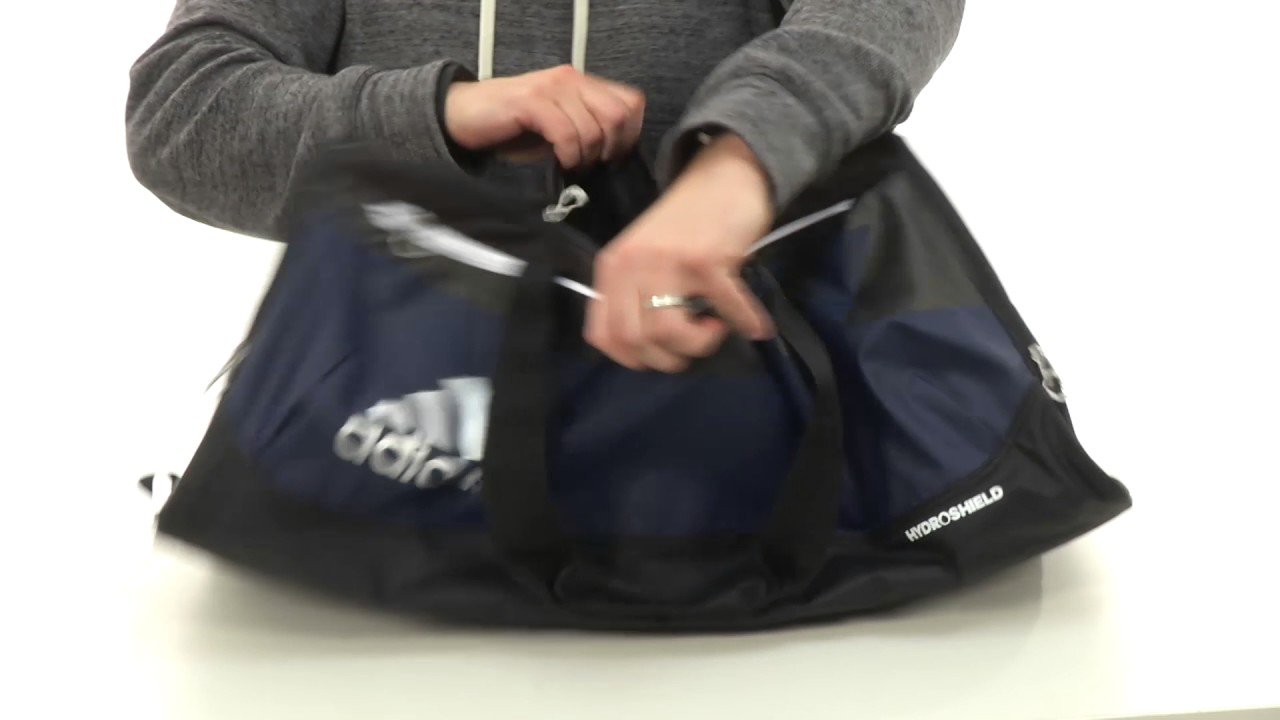 9598e28e41 adidas Team Issue Large Duffel SKU 8644760 - YouTube