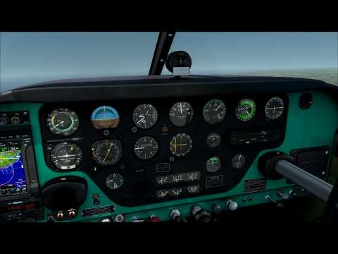A2A Simulations Comanche 250 over Troodos mountains, Cyprus