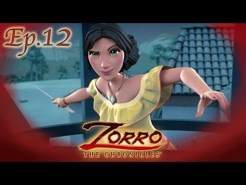 UN COMPLOTTO MALRIUSCITO | Le cronache di Zorro Episodio 12 |Cartoni di supereroi