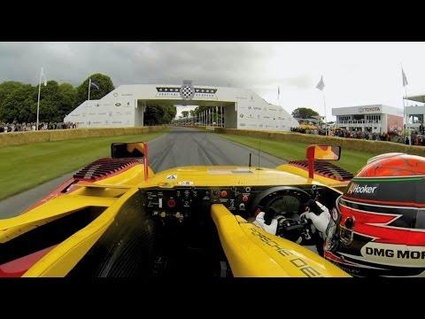 Porsche Goodwood Moments - Brendon Hartley & the RS Spyder LMP2