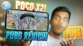 POCO X2 PUBG GAMEPLAY REVIEW ? GFX+GYRO+CLAW! 60 FPS BEAST!