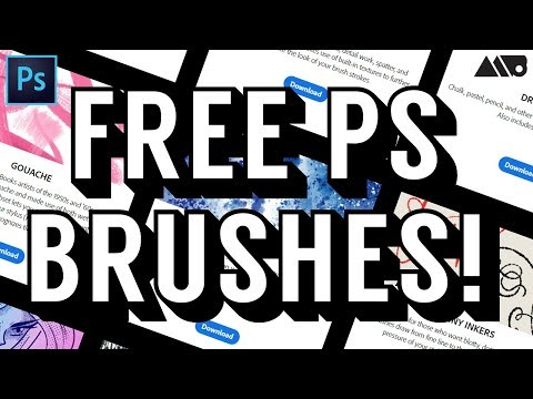 How To Download Free Photoshop Brushes From Adobe!