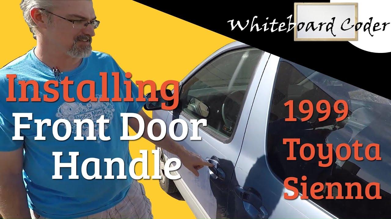 Fit 1998-2003 Toyota Sienna Van Passenger Side Right Front Door Window Glass