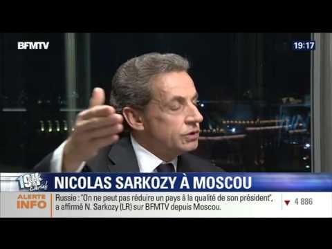 Sarkozy  La Russie la syrie  Daesh octobre 2015