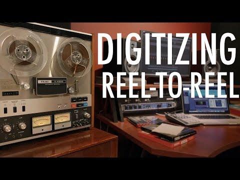 Converting Reel-To-Reel Tape To Digital!