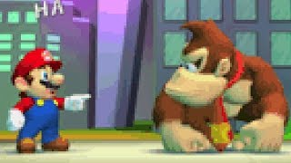 Mario Vs. Donkey Kong - All Boss Fights (Main Worlds)