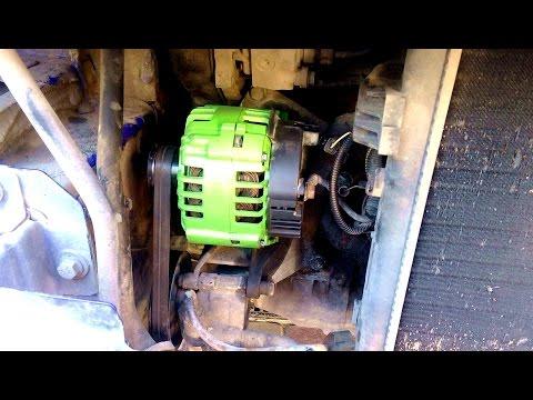 Снятие и ремонт генератора Opel Vivaro 1,9