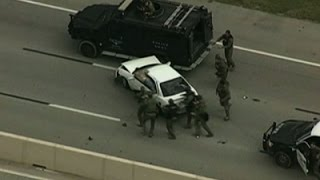 Raw: Slow Speed Chase Through Fort Worth