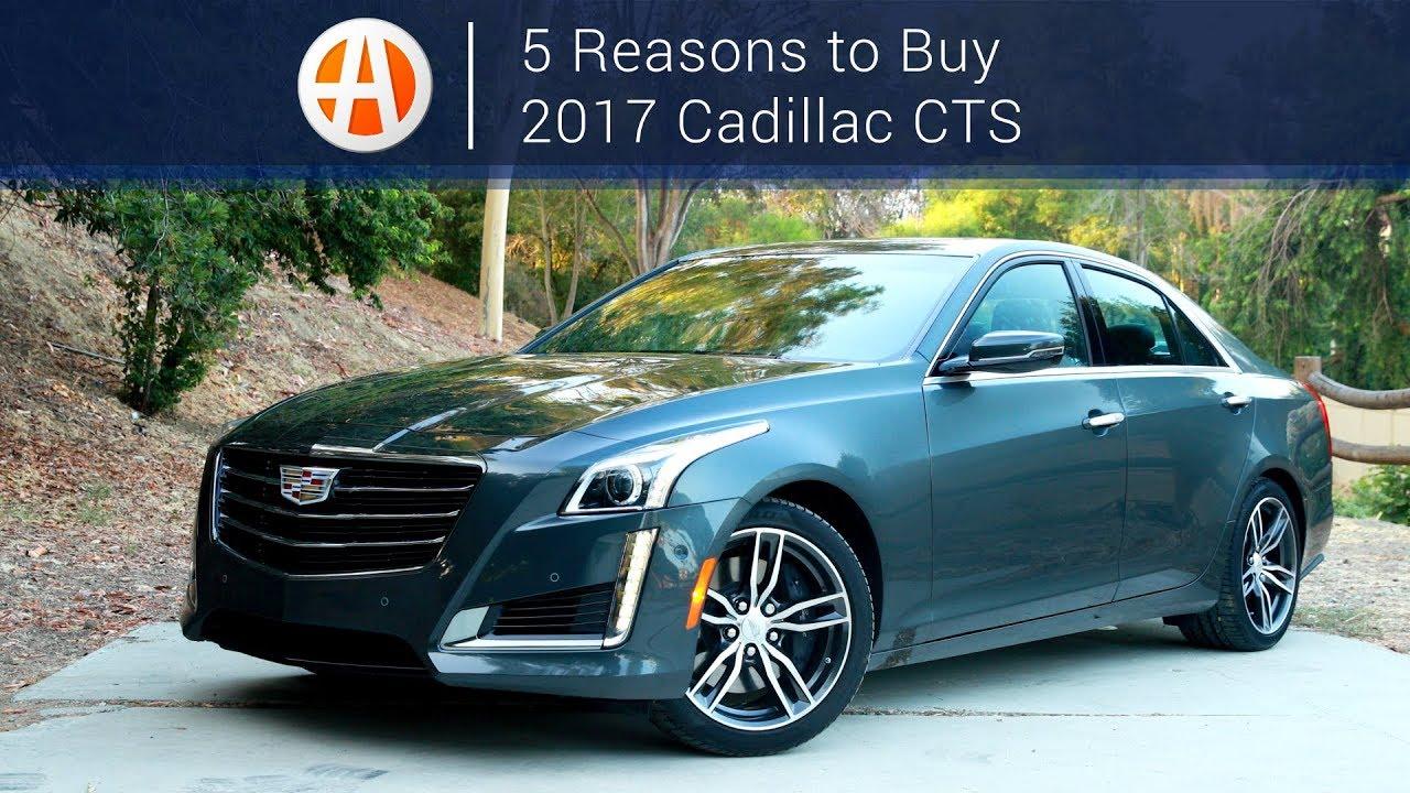 2017 Cadillac CTS | 5 Reasons to Buy | Autotrader - YouTube