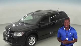 G95668TR - Used, 2017, Dodge Journey, SXT, Black, Test Drive, Review, For Sale -