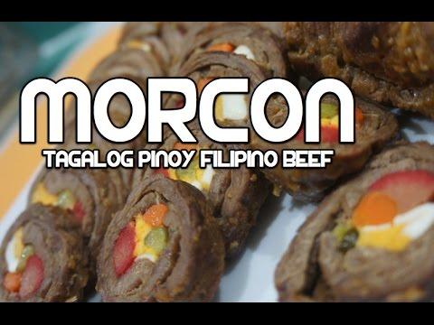 Paano magluto Morcon Recipe - Filipino Tagalog Pinoy