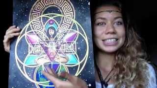 Merkaba Chakra Healing..Immortality Activation EXPLAINED | Francesca Love Artist