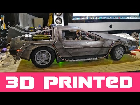 Ready Player One - Parzival's Delorean 3D Printed Model