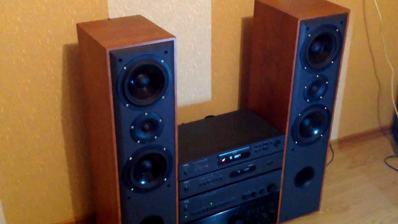 NAD C320, NAD T532 , NAD C420 and Dali Blue 5005 Speakers