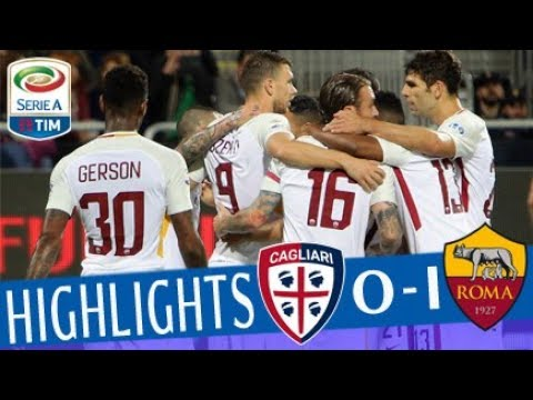 Cagliari - Roma 0-1 - Highlights - Giornata 36 - Serie A TIM 2017/18